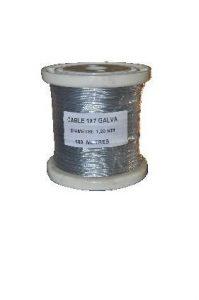 Câble en acier galvanisé
