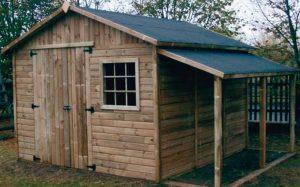 Option appentis pour chalets et garages