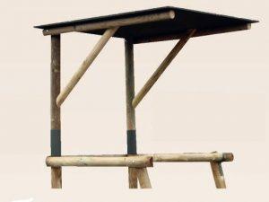 Option toit pour mirador de battue