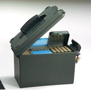 Boîte pour le transport de munitions, de cartouches