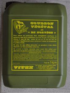 Goudron végétal liquide dit de Norvège