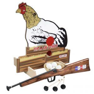 Jeu tir sur poules