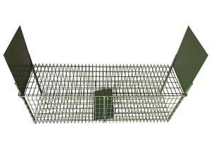 Cage grillagée double entrée ECO