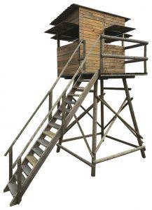 Option Cabine Chambord pour mirador Lourd