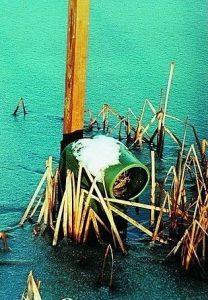 Nichoir flottant en plastique
